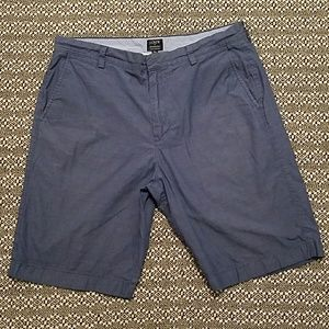 J. Crew Rivington blue chambray shorts - size 34